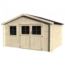 Caseta de madera Manil - Flodeal 4x3m