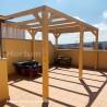 Pérgola de madera 5x3 m