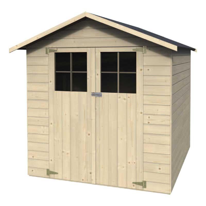 Caseta de madera panelada Tim. Decor et jardin 47458P043