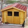 kit de teja asfáltica onduline para caseta de madera gran flodova