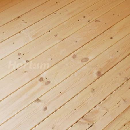 Suelo de lamas para Caseta de madera Flodova