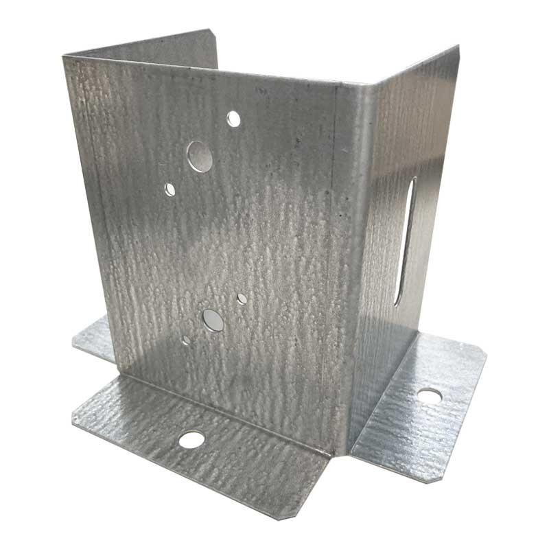 Anclajes para postes de 12x12 cm (3 caras)