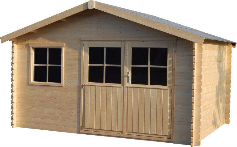 Caseta de madera Manil 4x3m