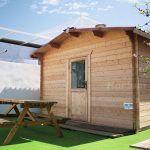 Caseta de madera a medida oficina Hortum