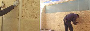Casetas de madera con aislamiento
