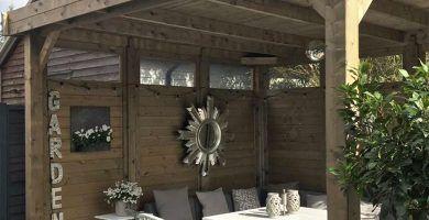 Opciones techado Pérgolas de madera