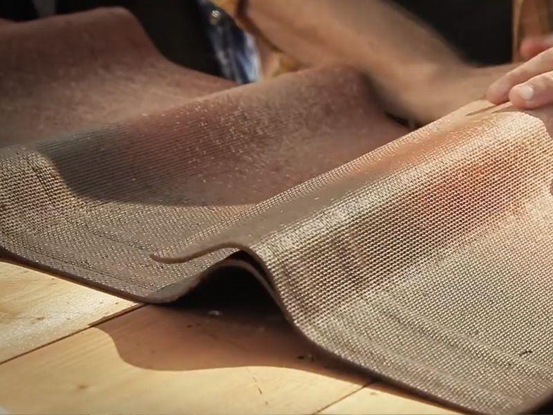 Solape de tejas asfálticas