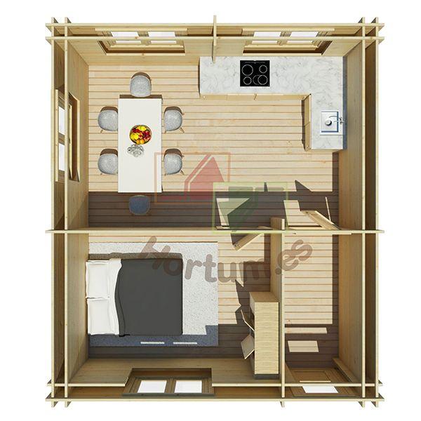 Interior Minicasa Onega Hortum