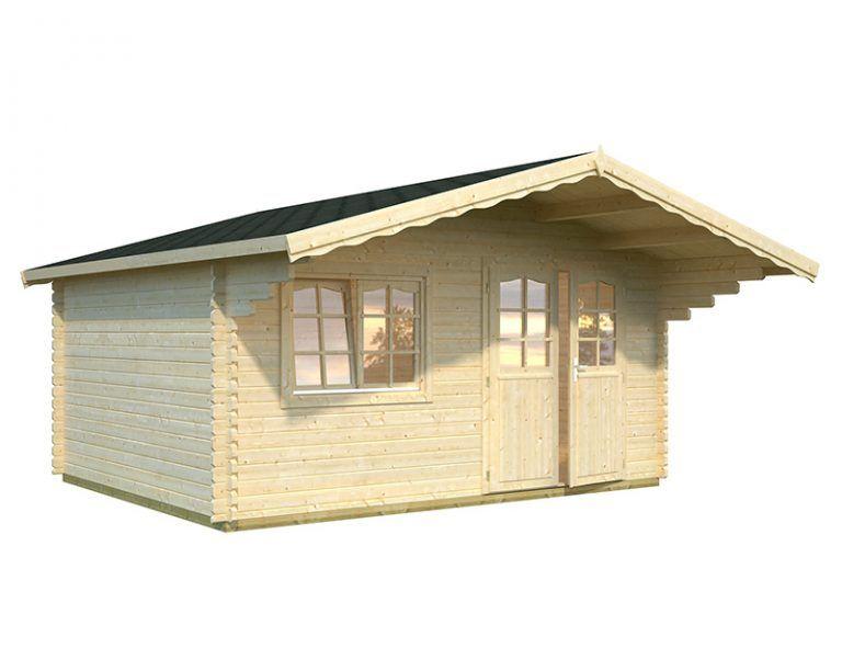 Caseta de madera Sally 15.5m2