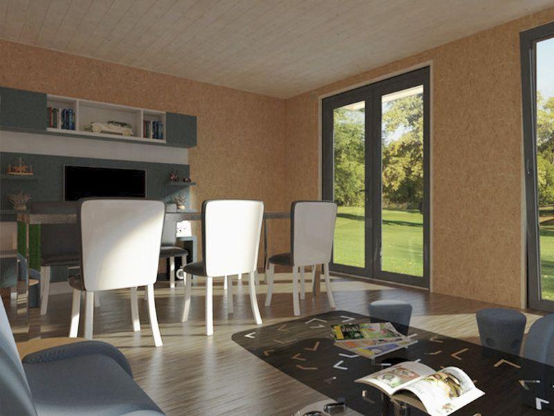 Interior minicasa estudio - Hortum.es
