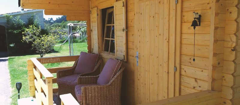 Fabricación casetas de madera