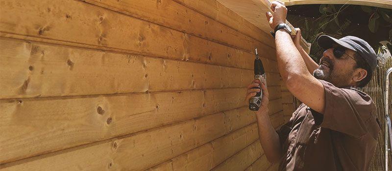 Instalación casetas de madera hortum.es