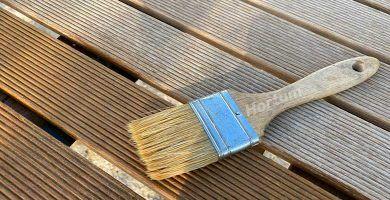 Baldosas para exterior de madera tratamiento