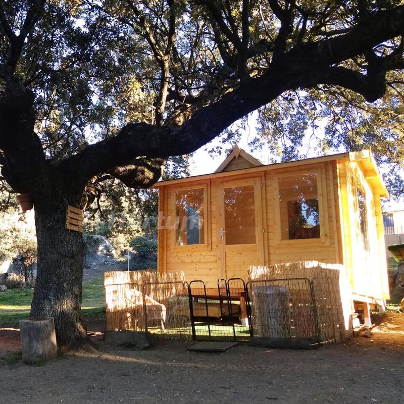 Caseta de madera Claudia 7,4 m2