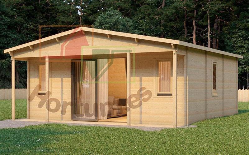Casetas de madera habitables prefabricadas a tu medida