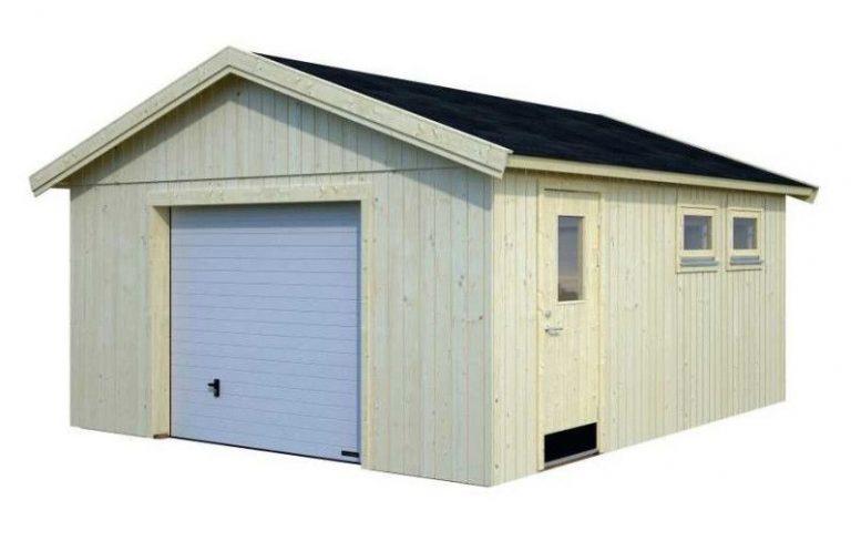 Comprar garajes para coches baratos de madera