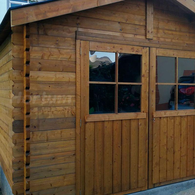 Caseta de madera tratada Barine
