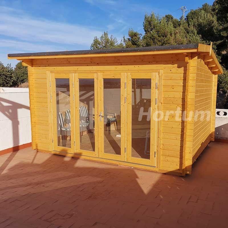 Caseta de madera Inés 11,1m2
