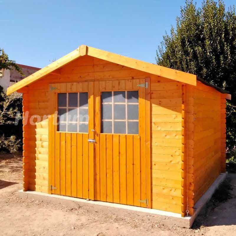Caseta de madera Gran Flodova