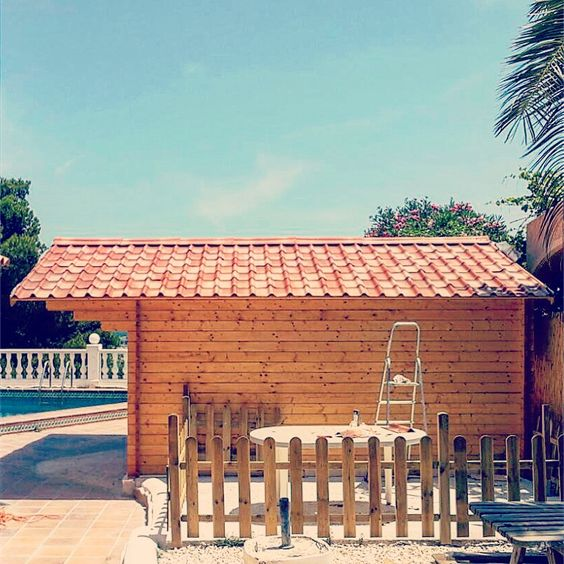 Comprar tejas asfálticas para casetas de madera