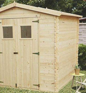 como mantener una caseta de madera en verano