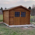Caseta Jardin madera tratada en autoclave