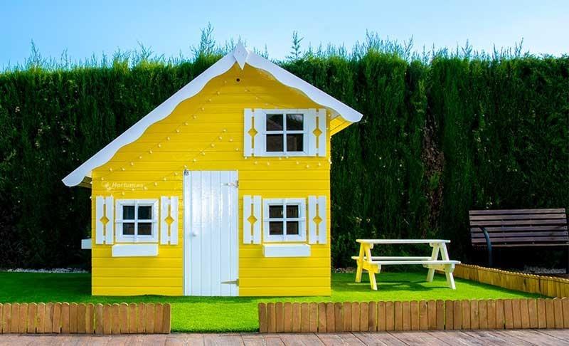 Casitas de Madera para Jardín | Parques Infantiles