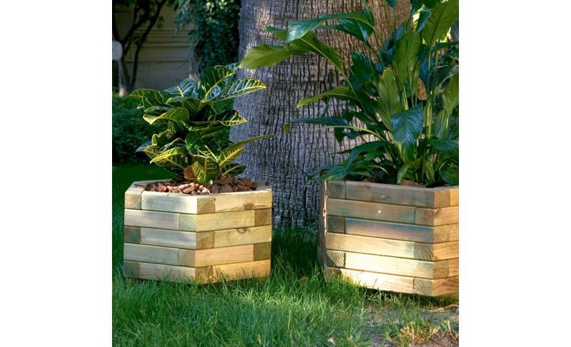 Jardineras, maceteros y huertos urbanos para su jardín