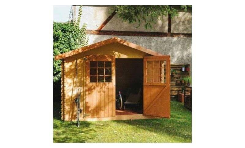 Casetas de jardín de madera baratas y a medida | Mejor Precio