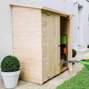 Armarios de madera exterior