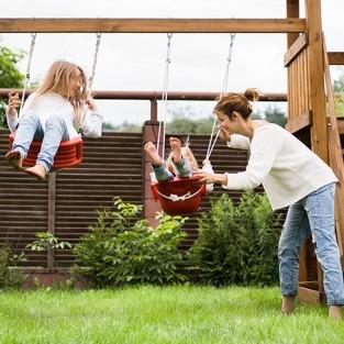 Parques infantiles en madera
