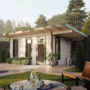 Casetas techo plano