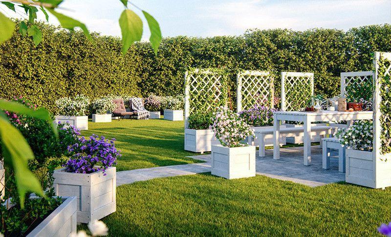 Accesorios de jardín ✔️ Complementos Casetas ✔️