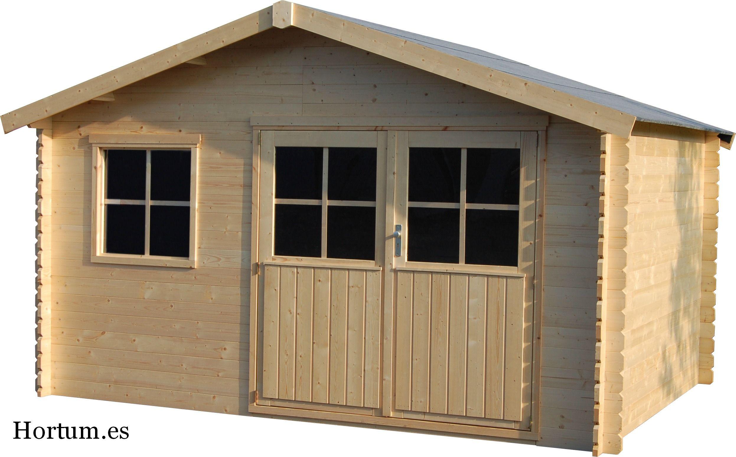 Caseta de madera flodeal