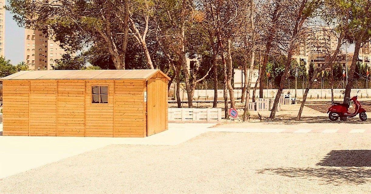 Garaje de madera Mikhail I - Instalación en Alicante - Hortum