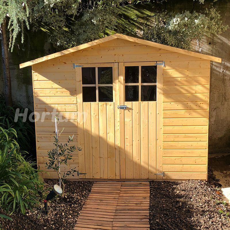casetas jardin madera panelada