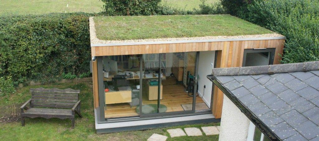 Oficina en el jardín