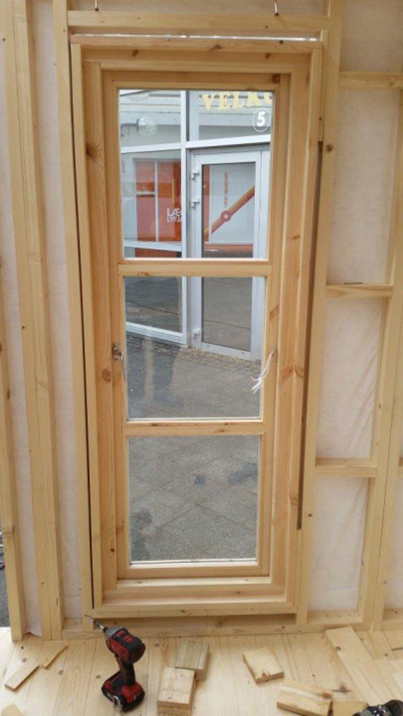 instalacion marco ventana caseta