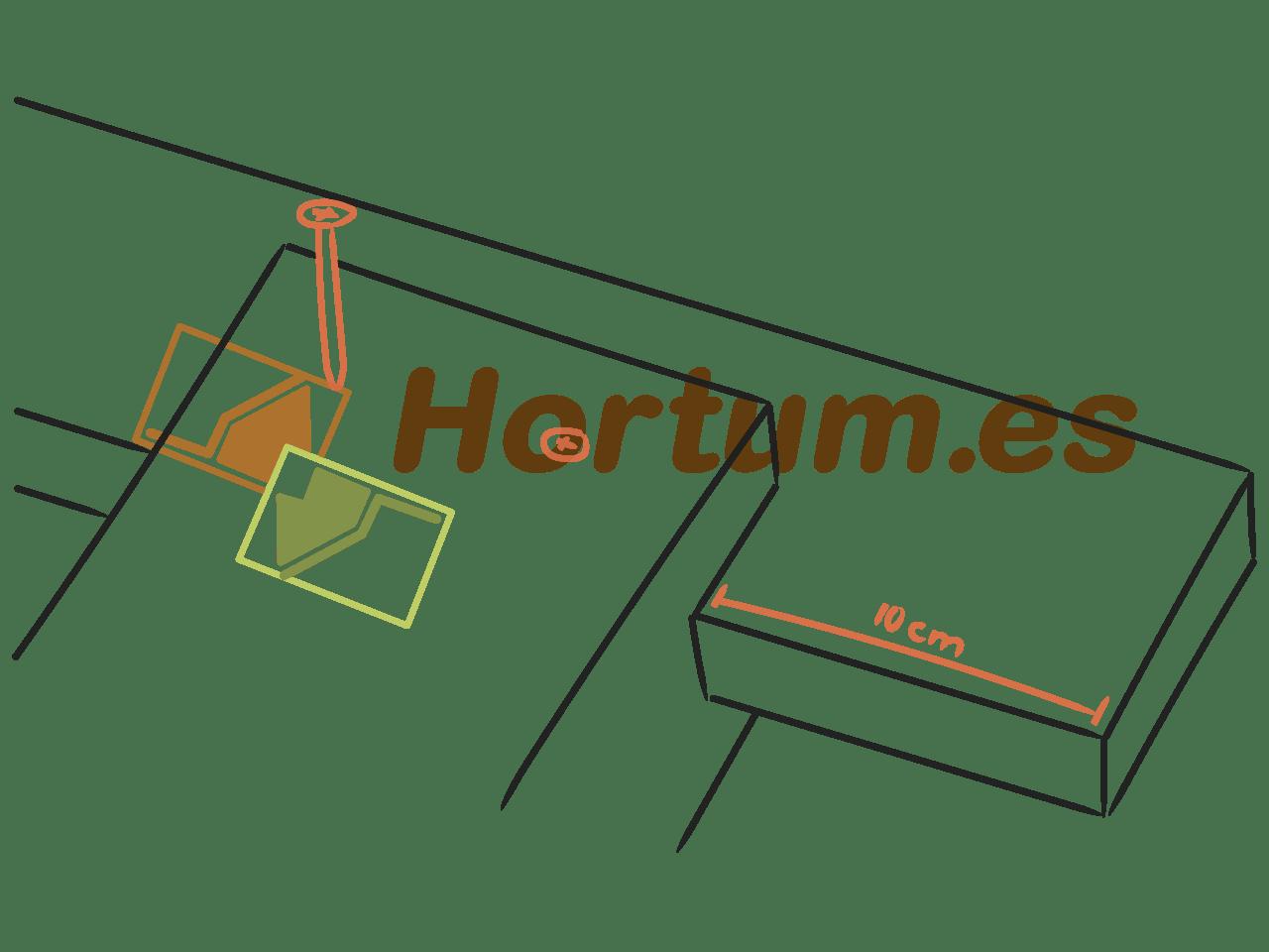 montaje pérgola de madera hortum