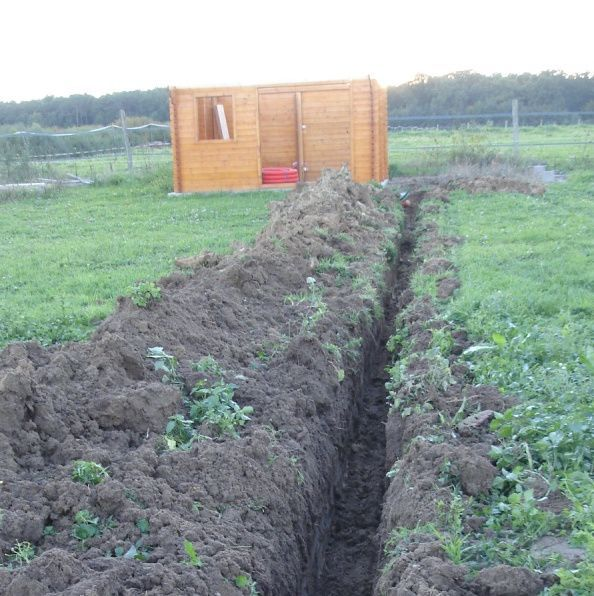 Instalación eléctrica para caseta de jardín