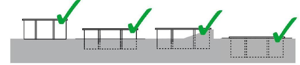 Formas de instalar una piscina de madera prefabricada