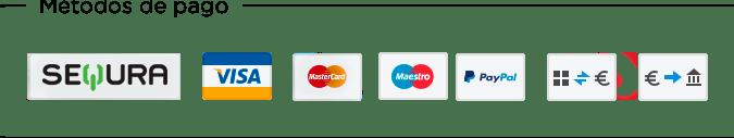 Pago seguro con Sequra - La Caixa - PayPal