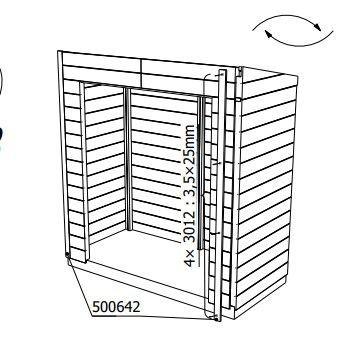Instalación armario albecove. Invertir tejado
