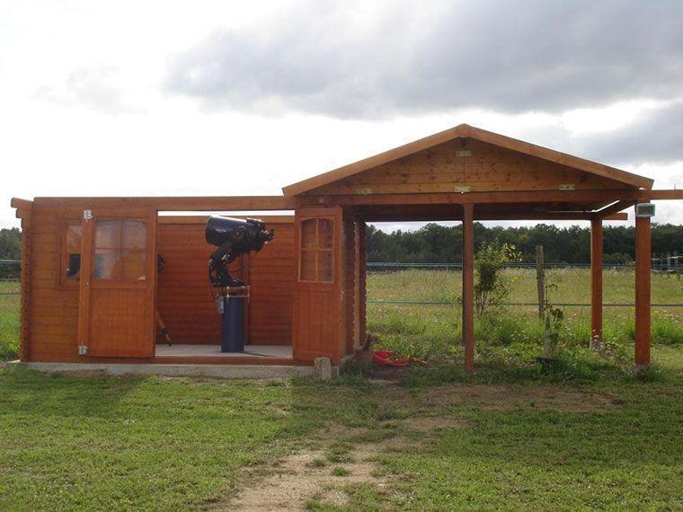 Caseta para observatorio astronimico