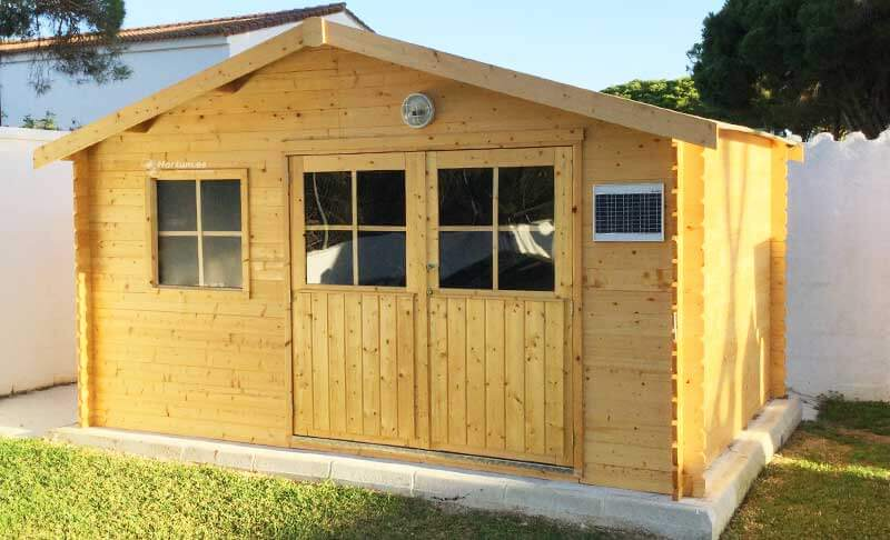 Casetas de madera para jardín