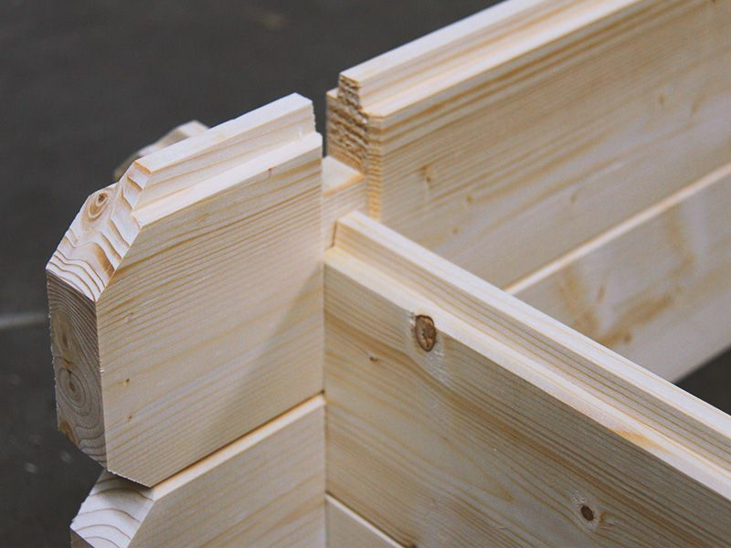 Montaje casetas de madera Hortum